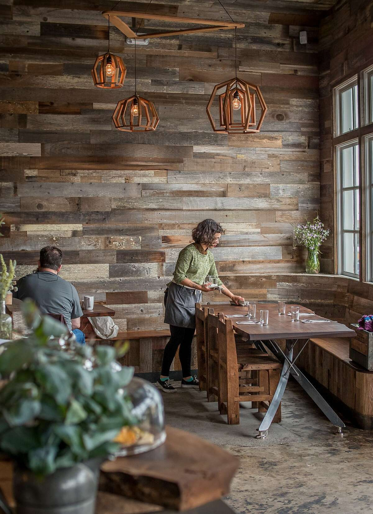 The interior of Outerlands in San Francisco, Calif., is seen on Thursday, July 18th, 2014.