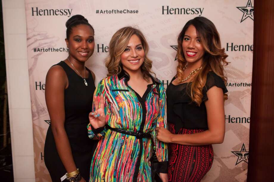 Shepard Fairey x Hennessy Limited Edition bottle launch after party at Belvedere in Houston's Uptown Park on Thursday, July 24, 2014. Photo: Collins Metu