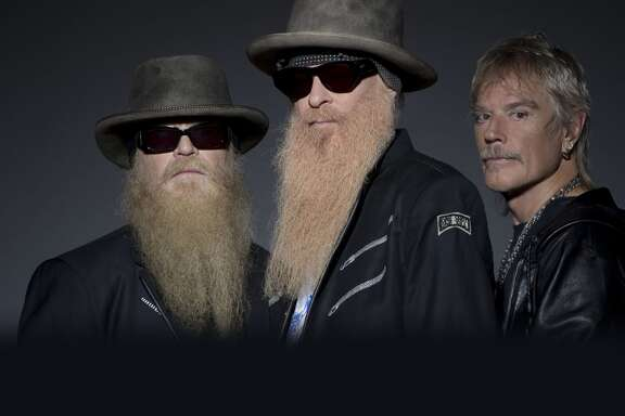 Legendary rock band ZZ Top, consisting of Billy Gibbons, Dusty Hill and Frank Beard, was formed in Houston in 1969.