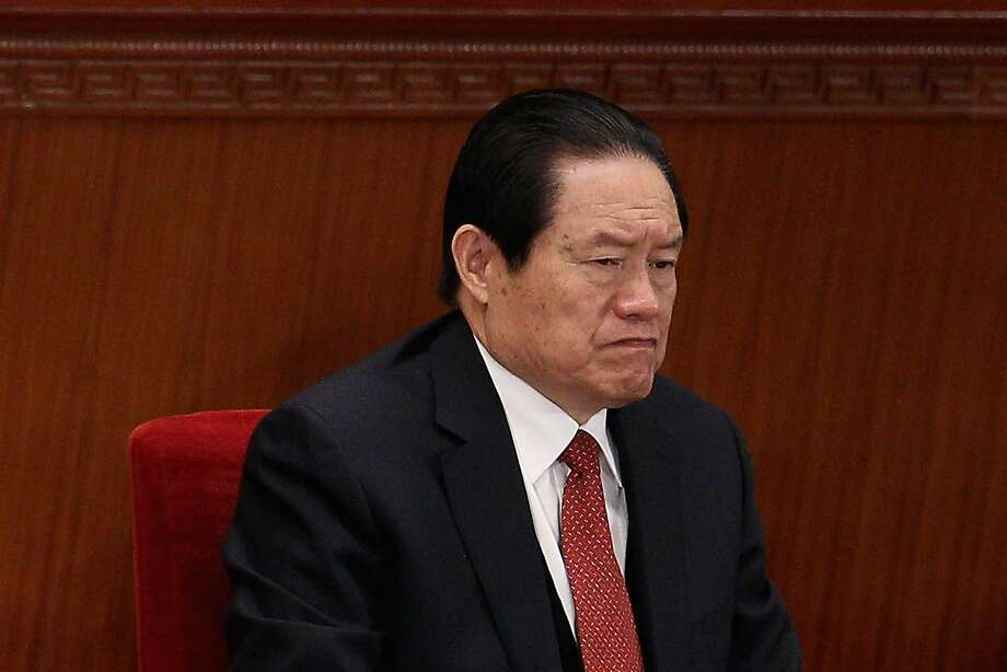 "Ex-security chief Zhou Yongkang, 71, is suspected of ""grave violations of discipline."" Photo: Feng Li, Getty Images"