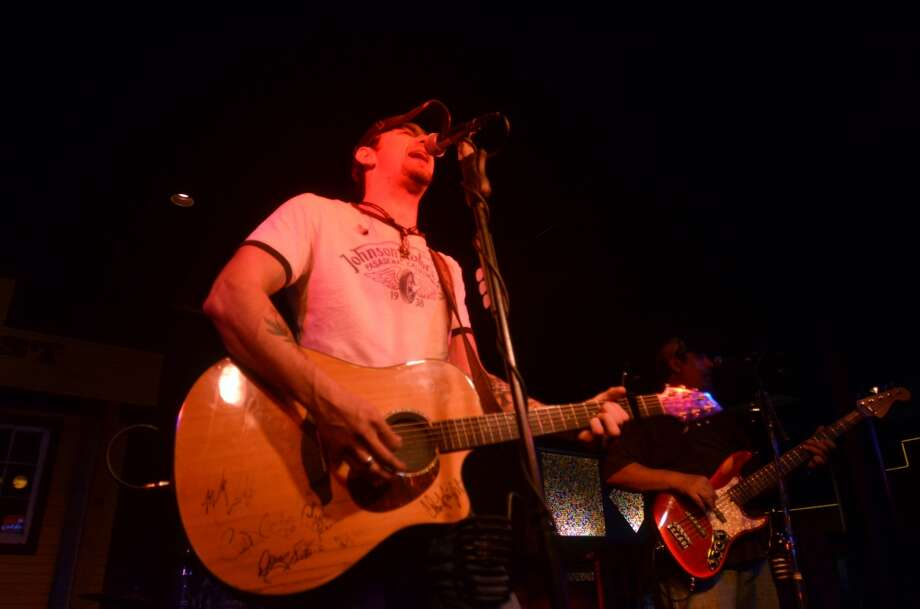 Bronco Jr. performs at Honky Tonk Wednesdays at Whiskey River. Photo: Cat5
