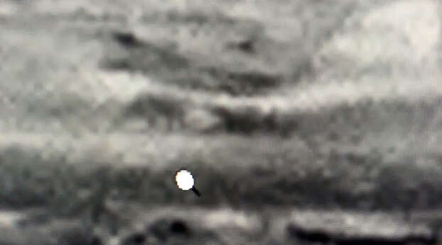 """Dinosaurs on Mars?The space watcher """"TRUTHSEEKER"""" on YouTube claims this image taken by the Mars rover shows two dinosaurs on the surface of the red planet.Can you see them? Photo: TRUTHSEEKER On YouTube"""