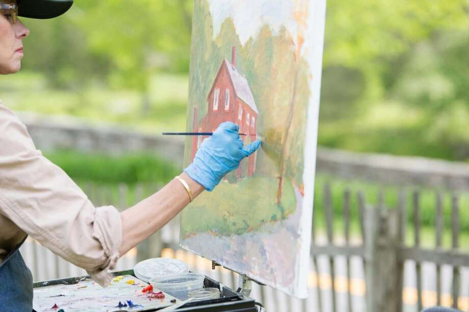 Admiring the autumn landscape is fine but capturing its beauty in art is
