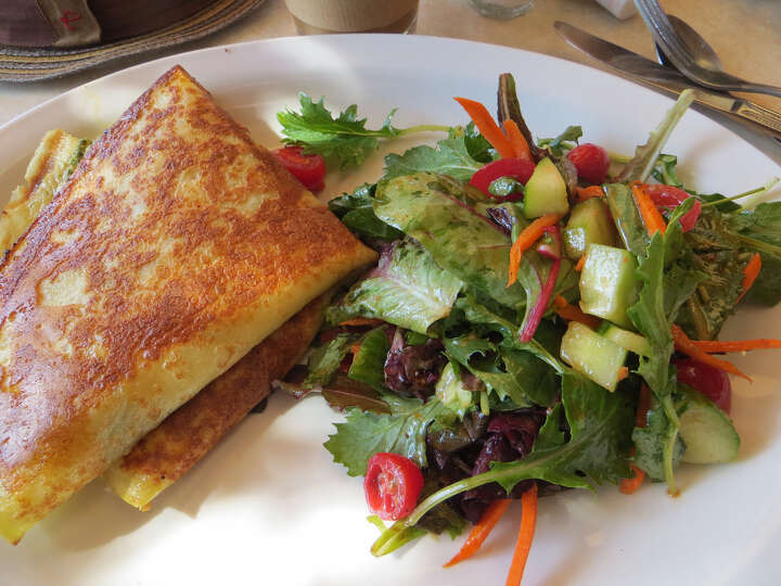 Squat & Gobble: Crepes, overstuffed with everything from
