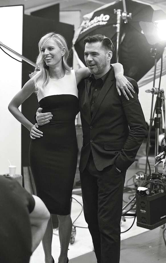 Roland Mouret has created a 30-piece capsule collection for Banana Republic. Photo: Banana Republic / ONLINE_YES