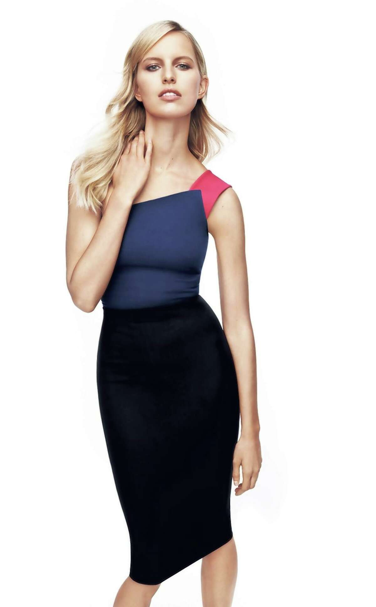 Roland Mouret has created a 30-piece capsule collection for Banana Republic.