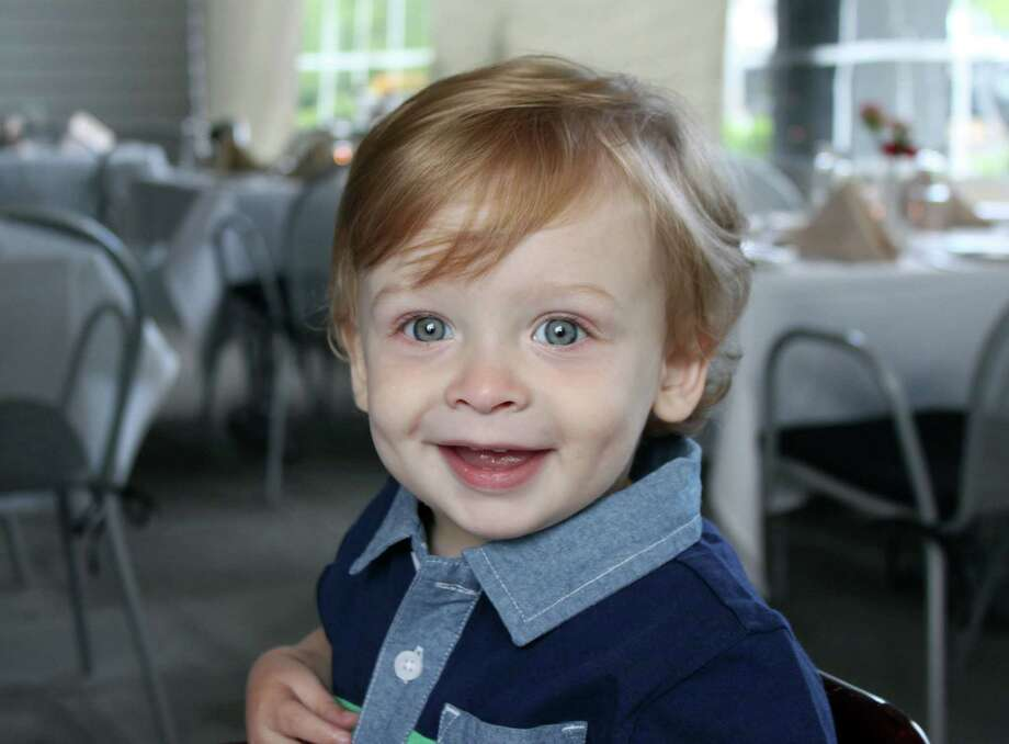 "Benjamin Seitz, the 15-month-old son of Kyle and Lindsey Rogers-Seitz of Ridgefield, died July 7 after his father left him in the car for what police called ""an extended period of time."" Photo: Carol Kaliff / The News-Times"