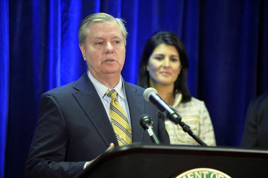 "Sen. Lindsey Graham calls the aid a ""necessity."" Photo: Michael Holahan, Associated Press"