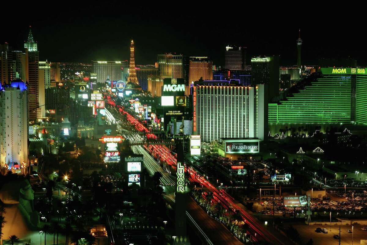 Las Vegas is home to some of history's biggest and most expensive live shows. Let's take a look back on some of the most notable people to headline the strip. Pictured: Hotel-casinos on the Las Vegas Strip are seen on February 25, 2006 in Las Vegas, Nevada.