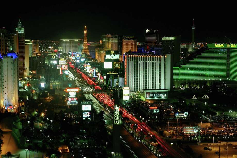 Las Vegas is home to some of history's biggest and most expensive live shows. Let's take a look back on some of the most notable people to headline the strip.  Pictured: Hotel-casinos on the Las Vegas Strip are seen on February 25, 2006 in Las Vegas, Nevada. Photo: Ethan Miller, Getty / 2005 Getty Images