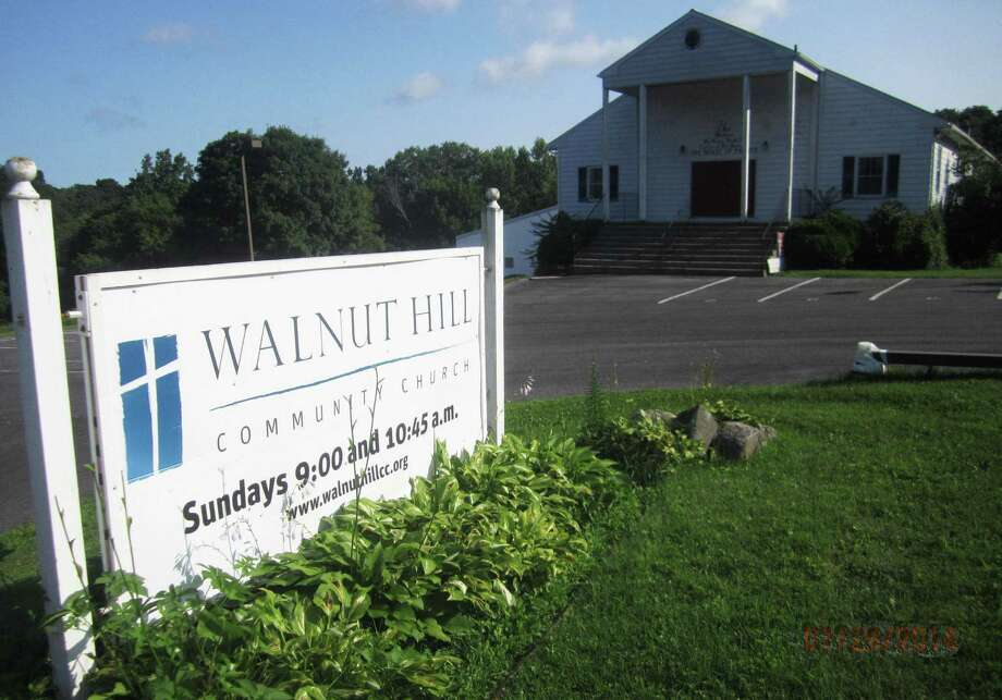 The Walnut Hill Community Church is located along Dorwin Hill Road in New Milford. August 2014 Photo: Norm Cummings / The News-Times