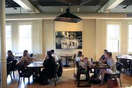 The main dining room at The Commissary in San Francisco, CA, Thursday, July 24, 2014.