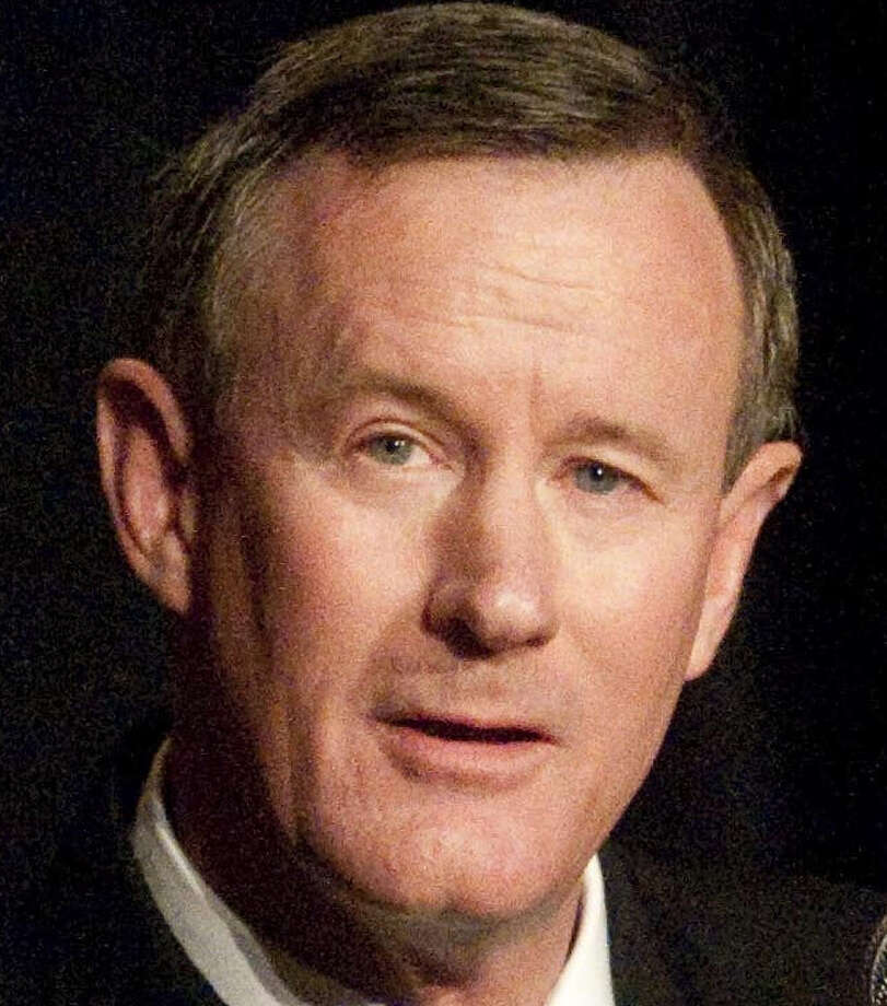 Adm. William McRaven will become chancellor against a backdrop of tense relations between the flagship campus' leadership and system regents. Photo: Rebeca Rodriguez, AP / Rebeca Rodriguez