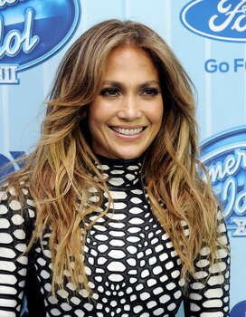 "LOS ANGELES, CA - JANUARY 14:  Singer Jennifer Lopez arrives at the premiere of Fox's ""American Idol Xlll"" at UCLA's Royce Hall on January 14, 2014 in Los Angeles, California. Photo: Kevin Winter, Getty Images / 2014 Getty Images"
