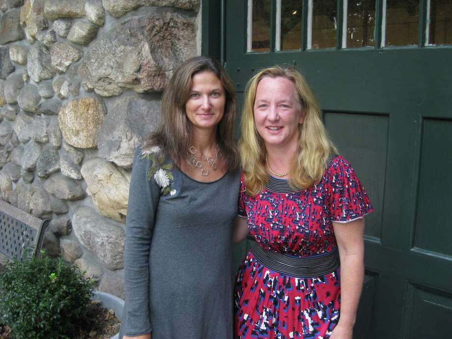 Arianna Faber Kolb and Eleanor Flatow, the co-directors of the Carriage Barn Arts Center, will present the awards to the winners of the Rowayton Arts Center exhibition Sunday, Aug. 3. Photo: Contributed Photo, Contributed / New Canaan News Contributed