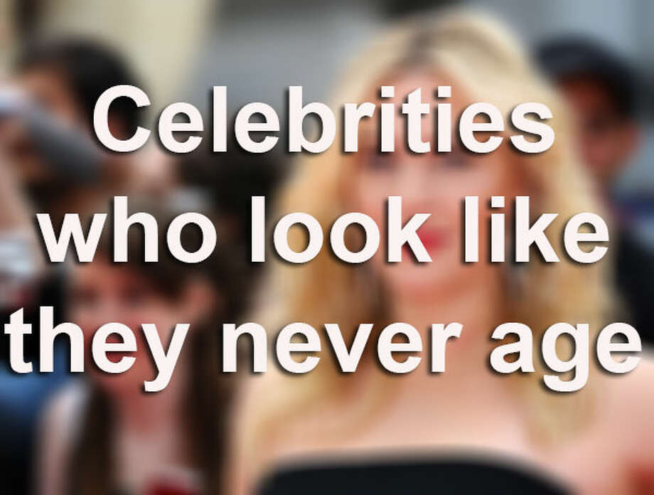 Some celebrities just never seem to look their age, or they are aging surprisingly slower than most. Whatever their secrets, whether it's wholesome living, cosmetic procedures, or an