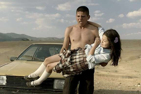 """""""Heli"""" from director Amat Escalante. Heli must try and protect his young family when his 12-year-old sister inadvertently involves them in the brutal drug world. He must battle against the drug cartel that have been angered as well as the corrupt police force."""