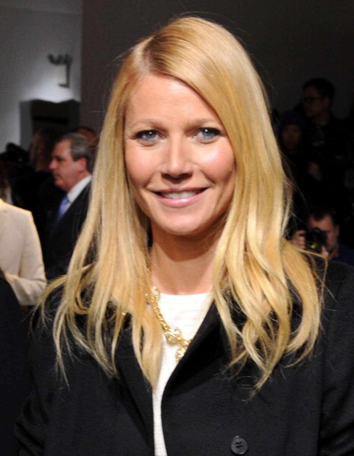"""2. Apple Doesn't Fall Far From the Tree Apparently, Paltrow's eldest child, Apple, resembles her mother's """"Royal Tenenbaums"""" character, Margo. During the interview, she traipses into the kitchen with eyeliner and a blunt bob."""