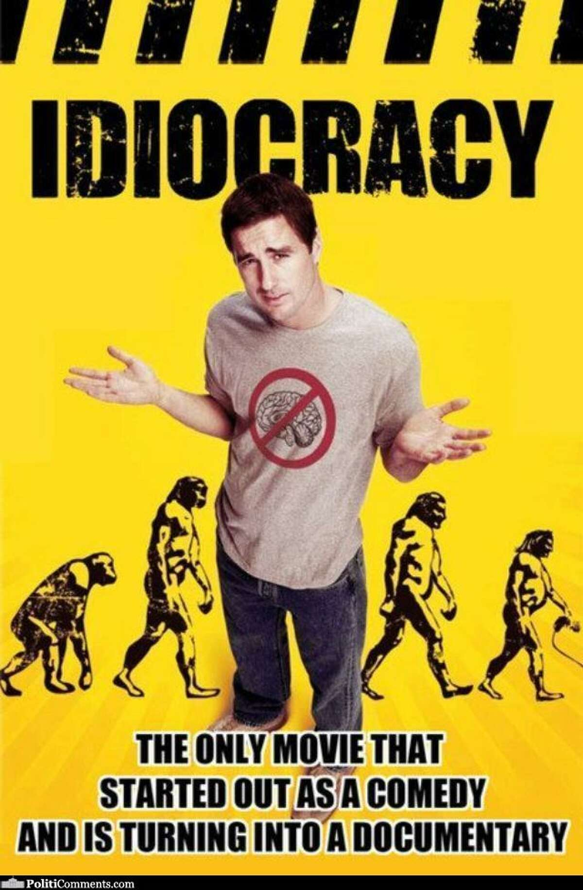 Prophetic? Many people who have devoured the comedy via DVD and streaming services have hailed as being accidentally prophetic within just a decade of its release.