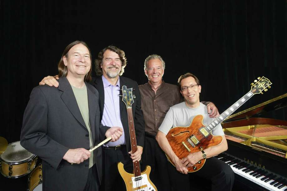 The Brubeck Brothers Quartet (from left) Dan and Chris Brubeck,  Chuck Lamb and Mike DeMicco. Photo: Anthony Pidgeon / ©Anthony Pidgeon