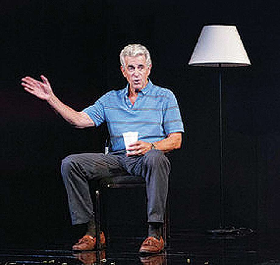 "James Naughton in ""Cedars."" (BTG publicity photo.)"