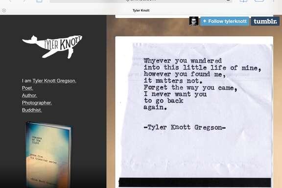 Screenshot of tylerknott.com