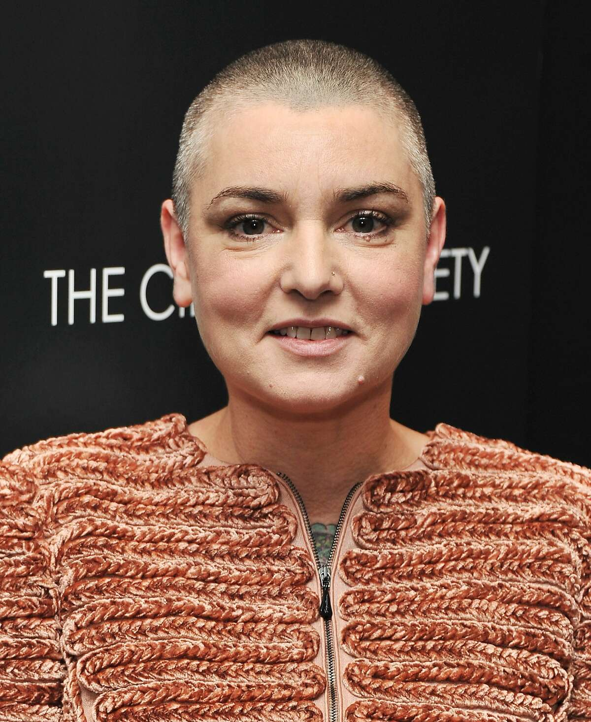 Sinead O'Connor remains incomparable on 'I'm Not Bossy, I'm The Boss.' NEW YORK, NY - DECEMBER 13: Singer Sinead O'Connor attends the Giorgio Armani & Cinema Society screening of