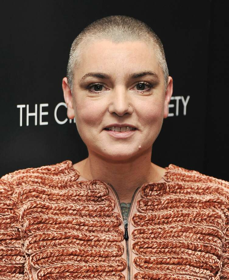 "Sinead O'Connor remains incomparable on 'I'm Not Bossy, I'm The Boss.' NEW YORK, NY - DECEMBER 13:  Singer Sinead O'Connor attends the Giorgio Armani & Cinema Society screening of ""Albert Nobbs"" at the Museum of Modern Art on December 13, 2011 in New York City.  (Photo by Stephen Lovekin/Getty Images) Photo: Stephen Lovekin, Getty Images"