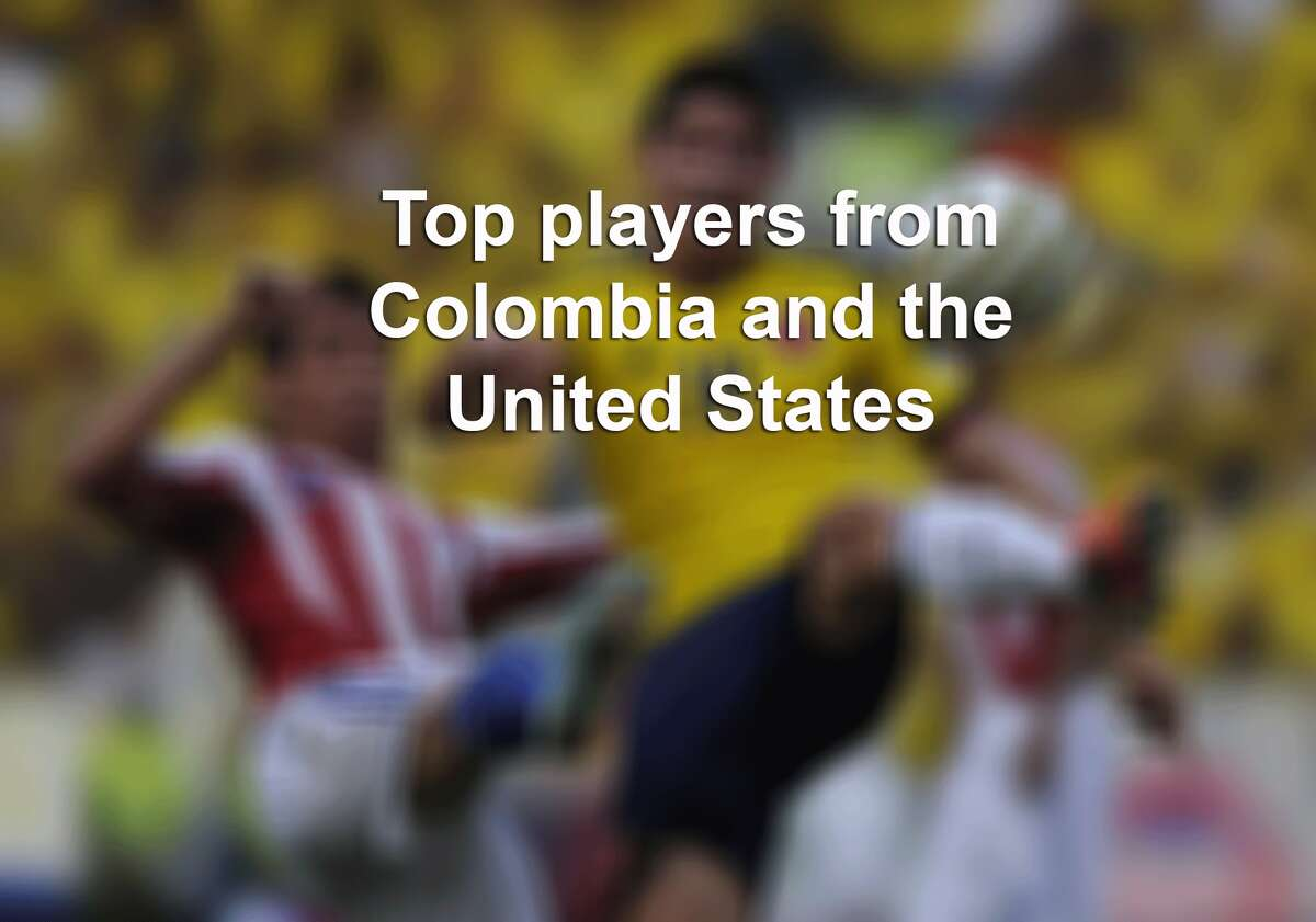 Top players from Colombia and the United States