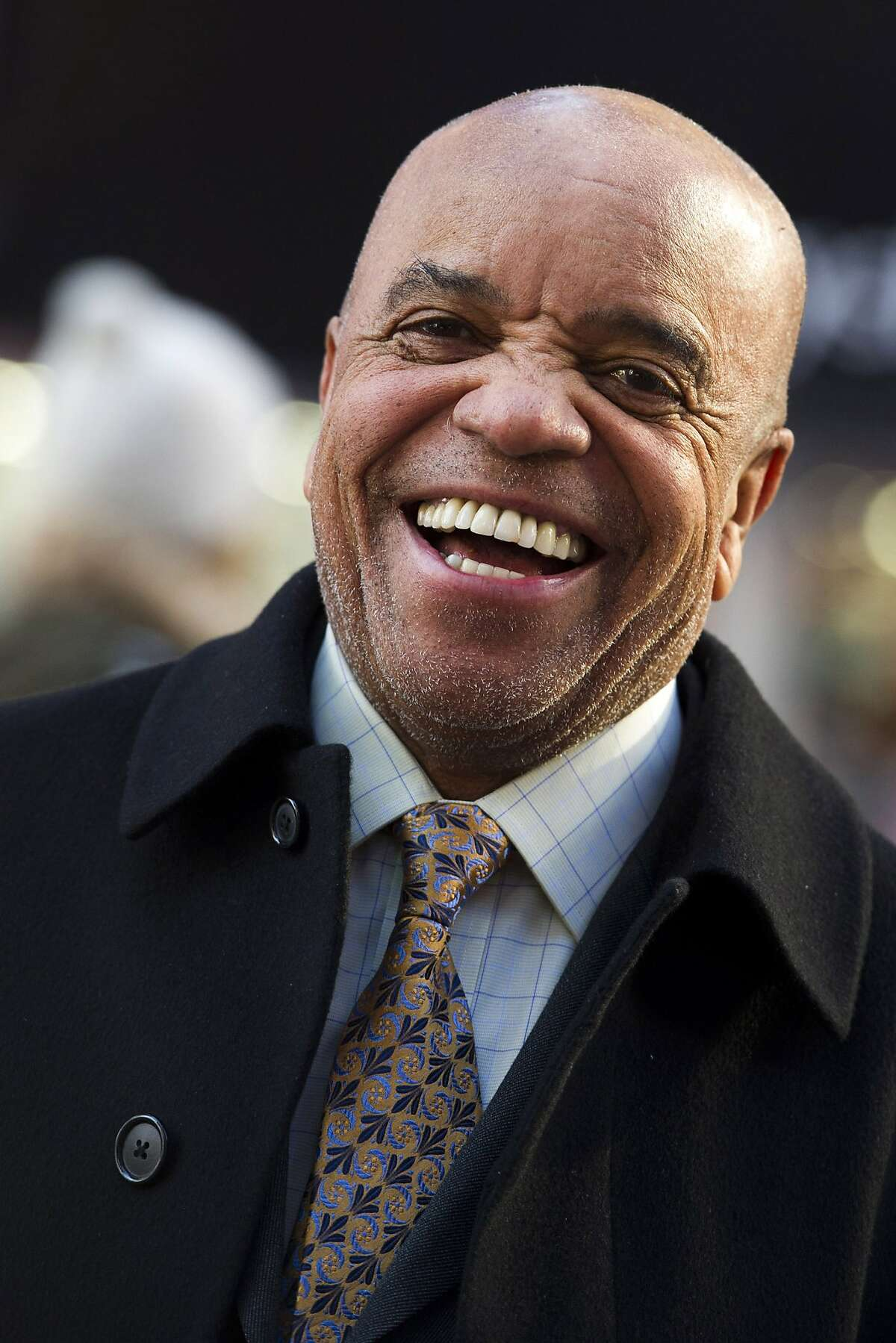 This March 5, 2013 photo shows Berry Gordy posing for a portrait in New York. For Berry Gordy, conquering Broadway is the next - and by his own admission, last - major milestone of a magical, musical career. The 83-year-old Motown Records founder is taking his story and that of his legendary label to the Great White Way.