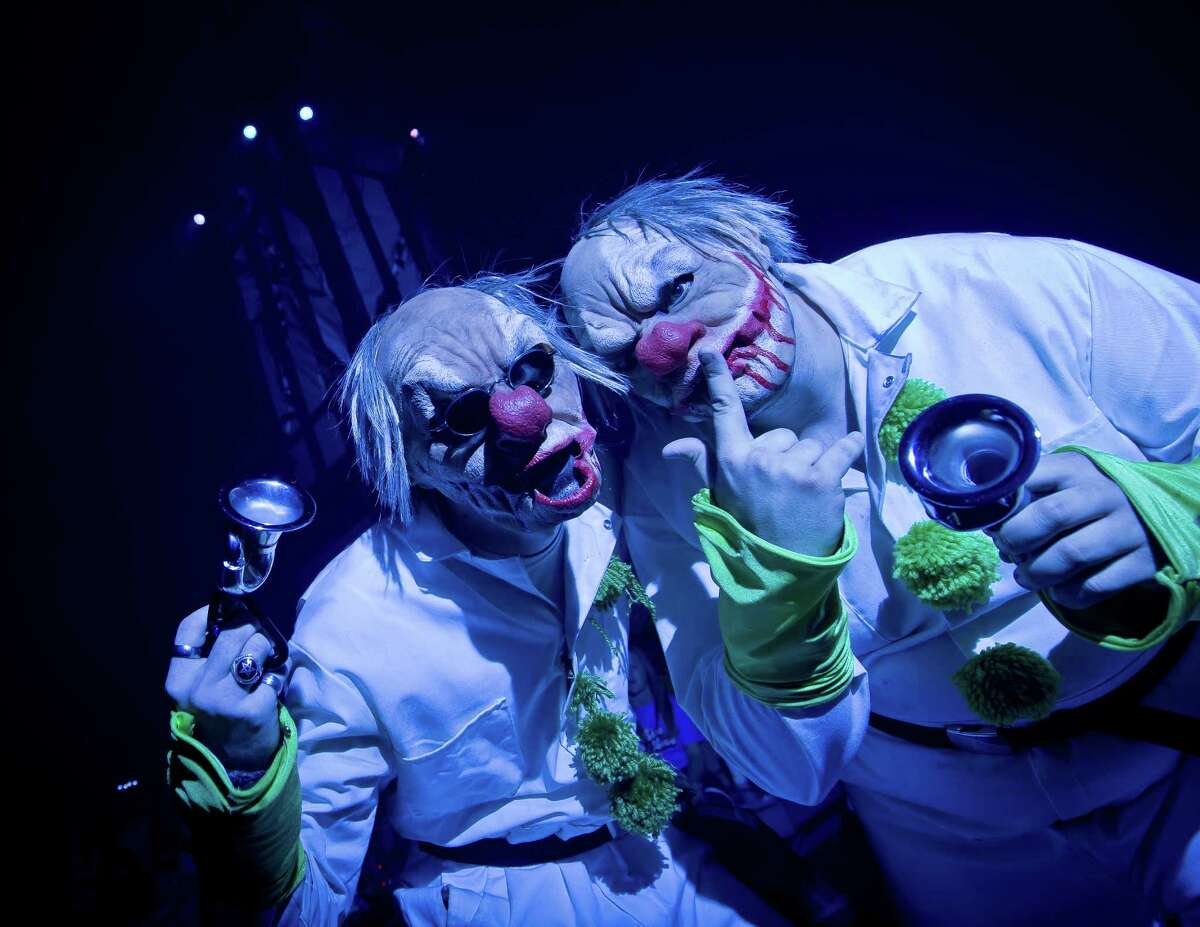Howl-O-Scream actors in action at SeaWorld San Antonio. Auditions will be conducted from 6-8 p.m. each Tuesday, Thursday and Saturday, now through the end of August.