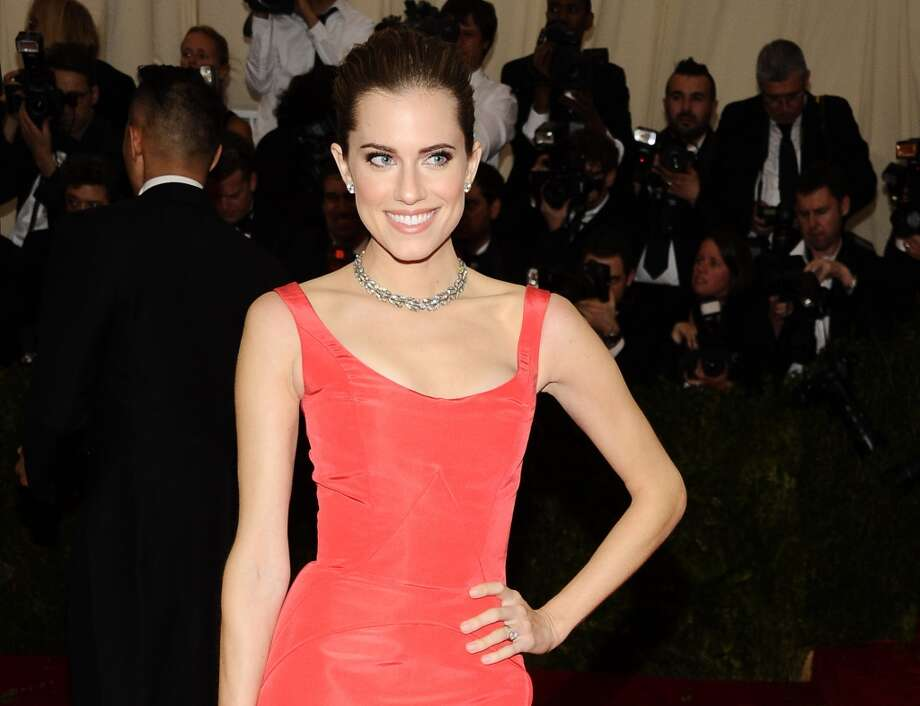 "FILE - This May 5, 2014 file photo shows Allison Williams at The Metropolitan Museum of Art's Costume Institute benefit gala celebrating ""Charles James: Beyond Fashion,"" in New York. NBC announced Wednesday, July 30,  that Williams will play the boy who refused to grow up in NBC's new staging of ""Peter Pan Live!"" The live telecast of this musical classic will air Dec. 4. (Photo by Charles Sykes/Invision/AP, File) Photo: Charles Sykes, Associated Press"
