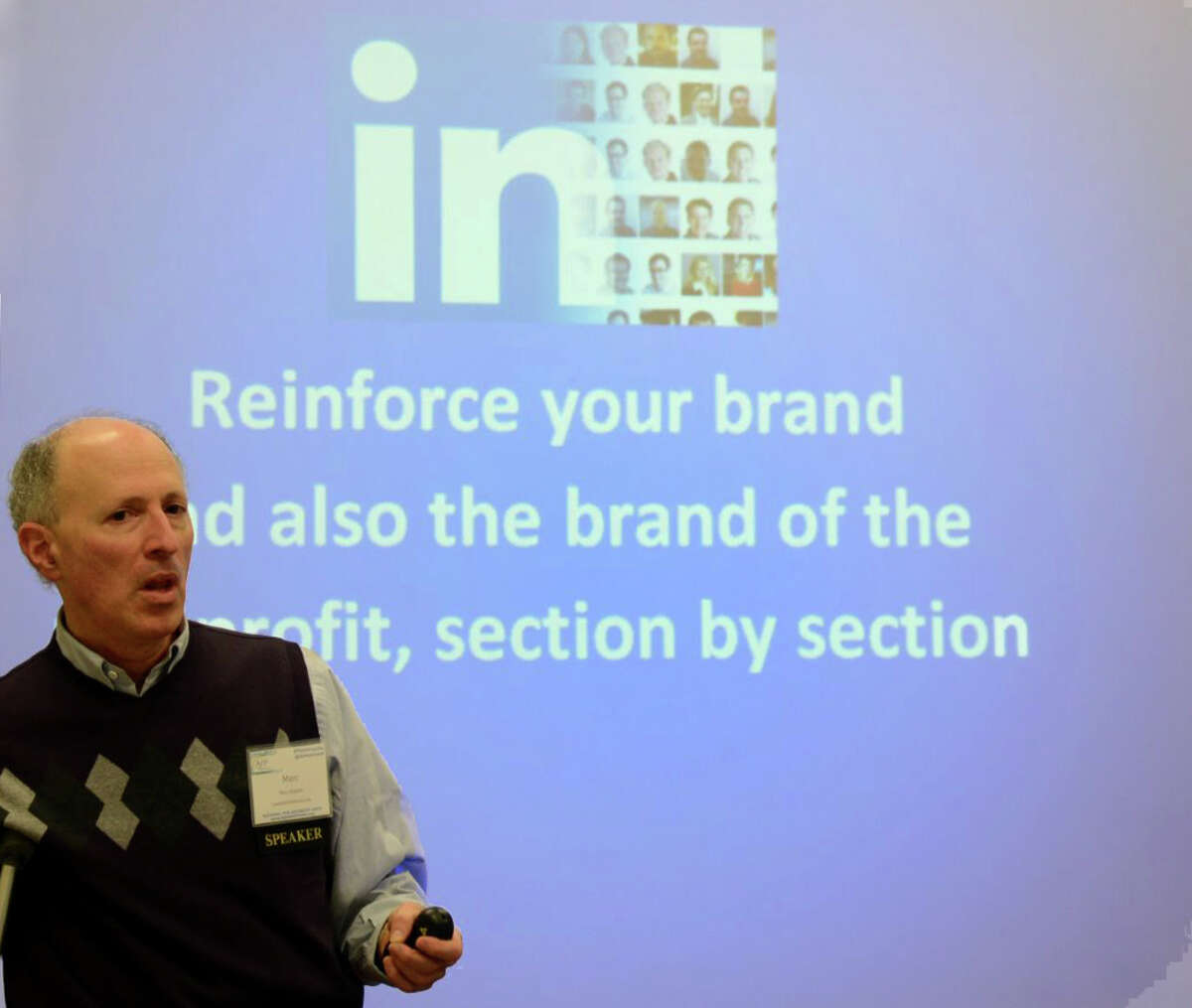 Marc Halpert, a LinkedIn trainer and speaker in Fairfield, is among the new businesses that have popped up to help people and companies find jobs or more work through social networking.