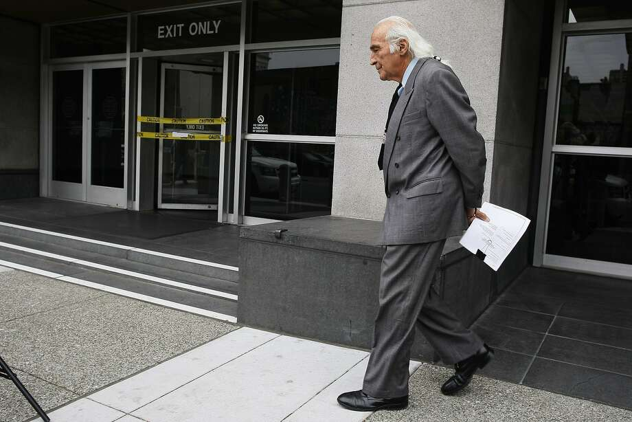 "Defense attorney Tony Serra calls the new charges ""an act of desperation."" Photo: James Tensuan, The Chronicle"