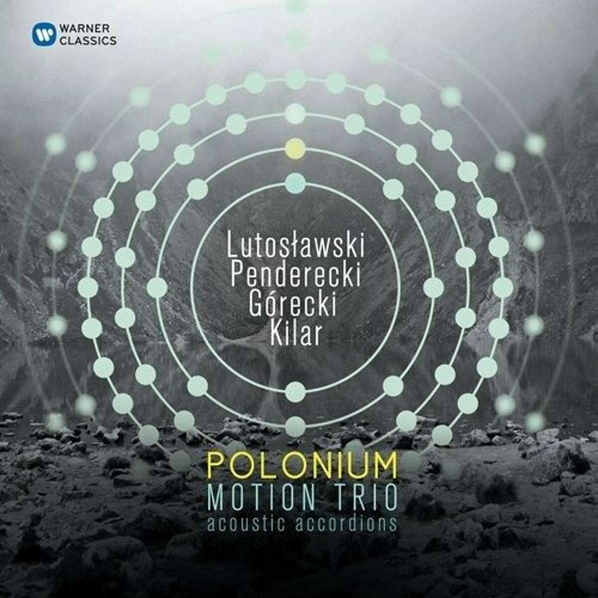 CD cover: Motion Trio