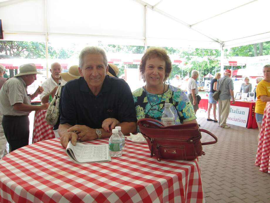 Were you Seen at Italian-American Day as part of the weekly International Heritage Series at Saratoga Race Course in Saratoga Springs on Wednesday, July 30, 2014? Photo: Anne Bongermino
