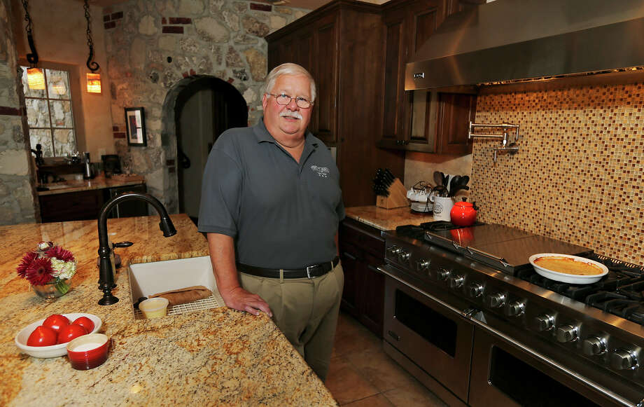 Portrait of Don Grogg in his kitchen Sunday July 28, 2014 at his home in Kerrville, Tx. Photo: Edward A. Ornelas, San Antonio Express-News / © 2014 San Antonio Express-News