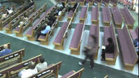 Caught stealing at church - Photo