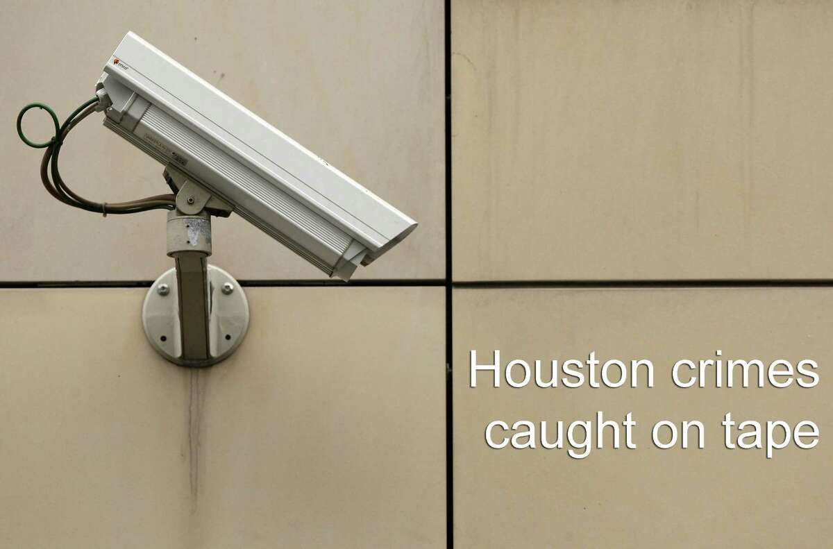 Houston-area crimes caught on tape Be warned, potential evil-doers. The cameras are always on, as these suspects found out.