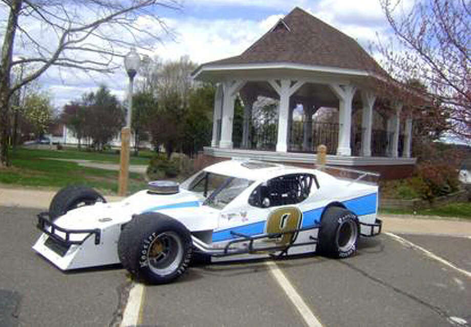 Paul BuzelâÄôs SK light modified car that he runs at Waterford Speedbowl. Buzel is from Trumbull. Photo: Contributed Photo, Contributed Photo / Connecticut Post Contributed