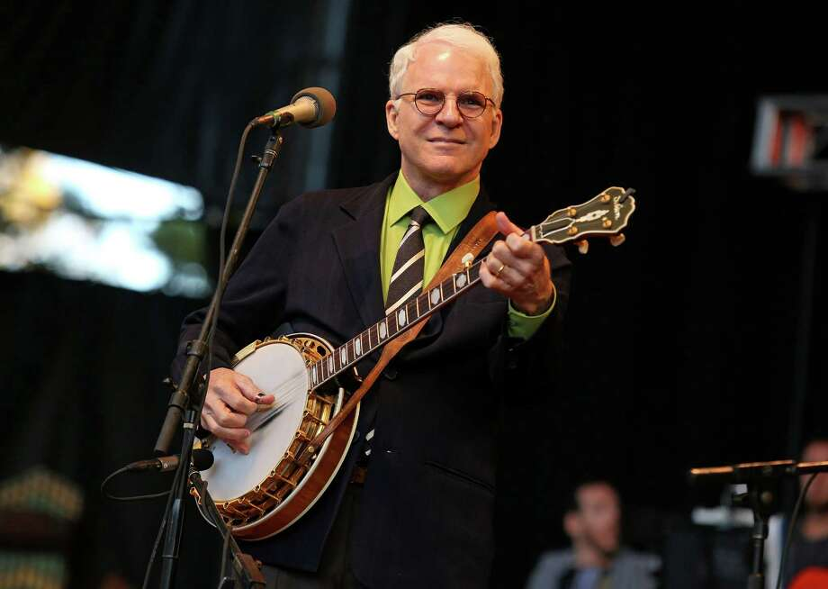 Steve Martin will perform with the Steep Canyon Rangers and Edie Brickll at Jones Hall. Photo: Barry Brecheisen, INVL / Invision