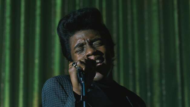 """Get on Up""Rotten Tomatoes: 83 percent Review by Jocelyn Noveck: Boseman drips with charisma as James BrownThere's a delicious moment in ""Get On Up,"" Tate Taylor's new James Brown biopic, when Brown — played by Chadwick Boseman, in a thrillingly magnetic performance — is about to appear on the T.A.M.I. Show, a multi-act concert filmed in 1964.