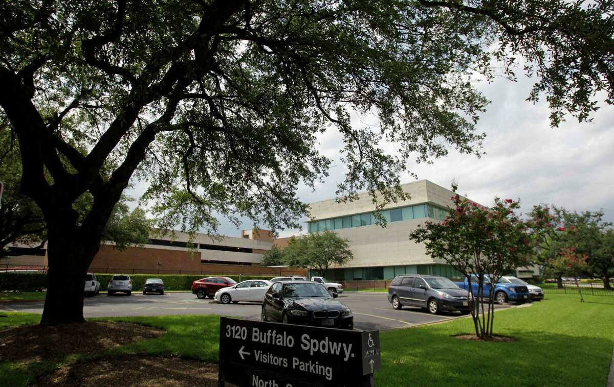 Exxon Mobil Upstream Research Co. headquarters property is on a tree-lined 17-acre site.