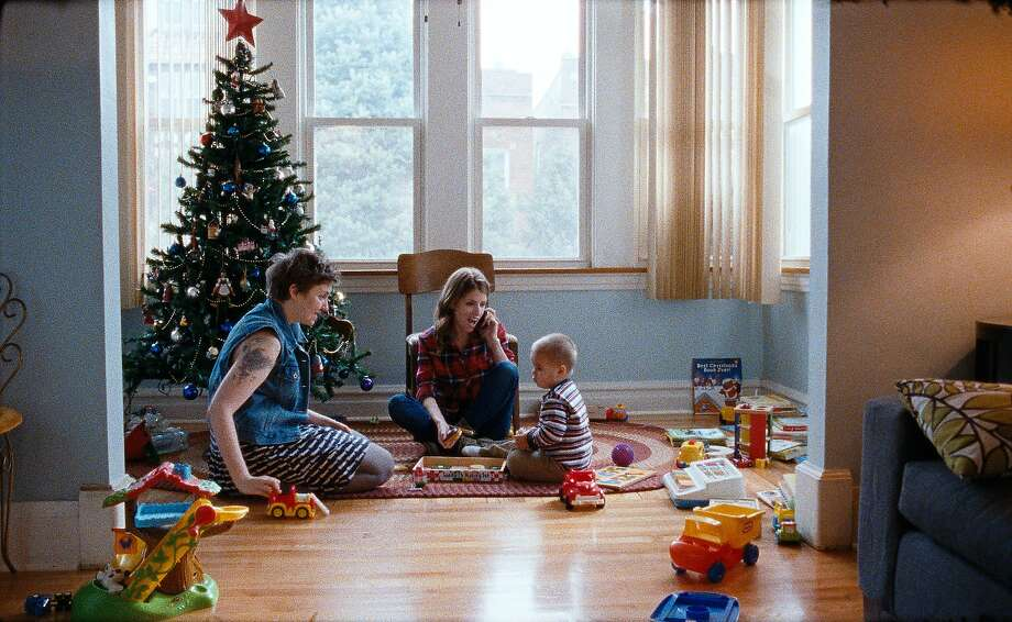 Lena Dunham (left) is the annoying friend of Anna Kendrick, the sister who arrives for a visit and stays too long, and Jude Swanberg. Photo: Courtesy Of Magnolia Pictures
