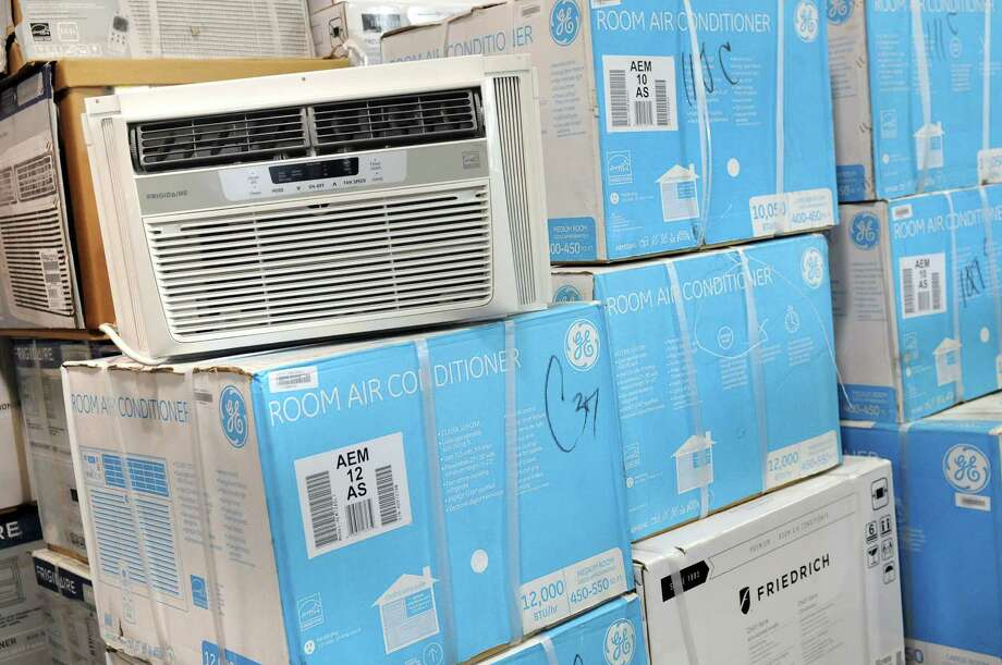 Air conditioner units for sale on Wednesday, July 30, 2014, at Cocca's Appliances in Colonie, N.Y. (Cindy Schultz / Times Union) Photo: Cindy Schultz / 00028002A
