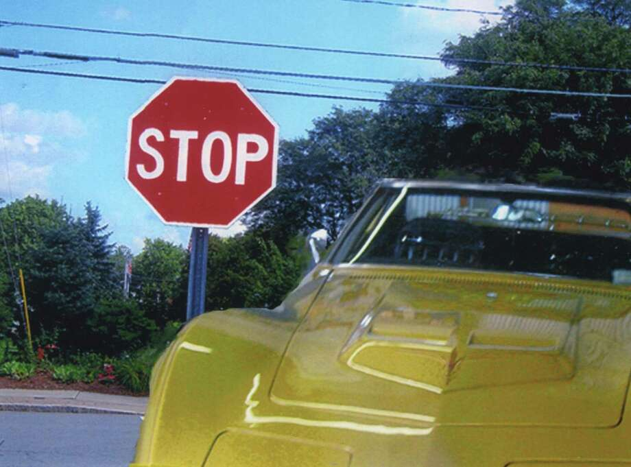 "Altamont resident Daniel Frinta's photo from the Altamont Fair of 2013 seems to say, ""Stop,"" go no further before checking out this gleaming automobile. (Daniel Frinta)"
