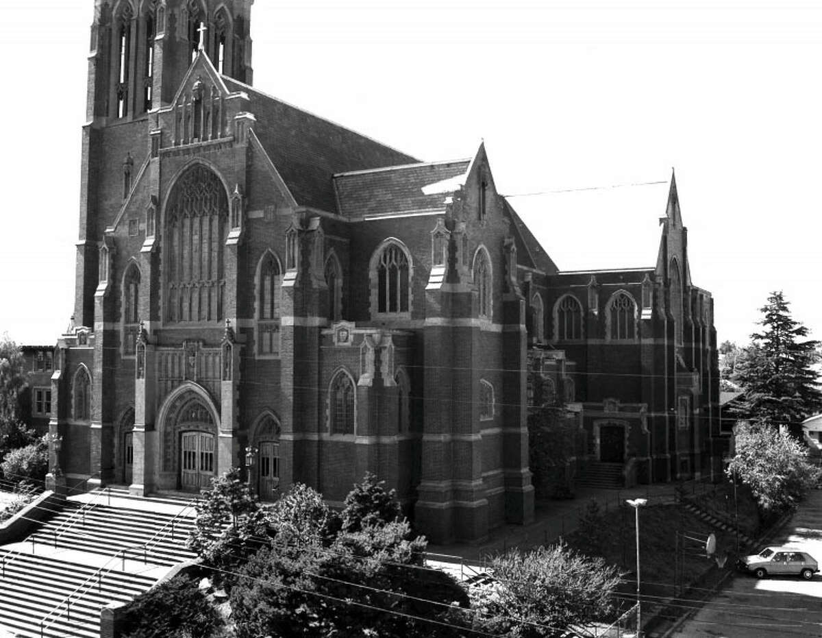 Church of the Blessed Sacrament, Priory and School - 5040-5041 9th Ave. N.E. - Added to the National Register of Historic Places on Jan. 12, 1984.