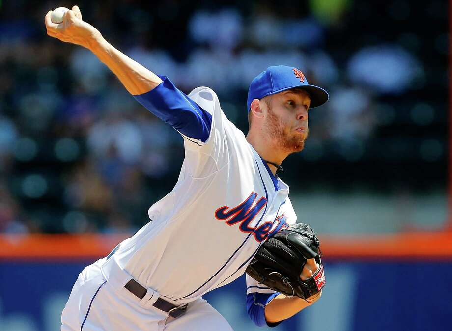 NEW YORK, NY - JULY 30:  Zack Wheeler #45 of the New York Mets pitches in the first inning against the Philadelphia Phillies at Citi Field on July 30, 2014 in the Flushing neighborhood of the Queens borough of New York City.  (Photo by Jim McIsaac/Getty Images) ORG XMIT: 477587163 Photo: Jim McIsaac / 2014 Getty Images
