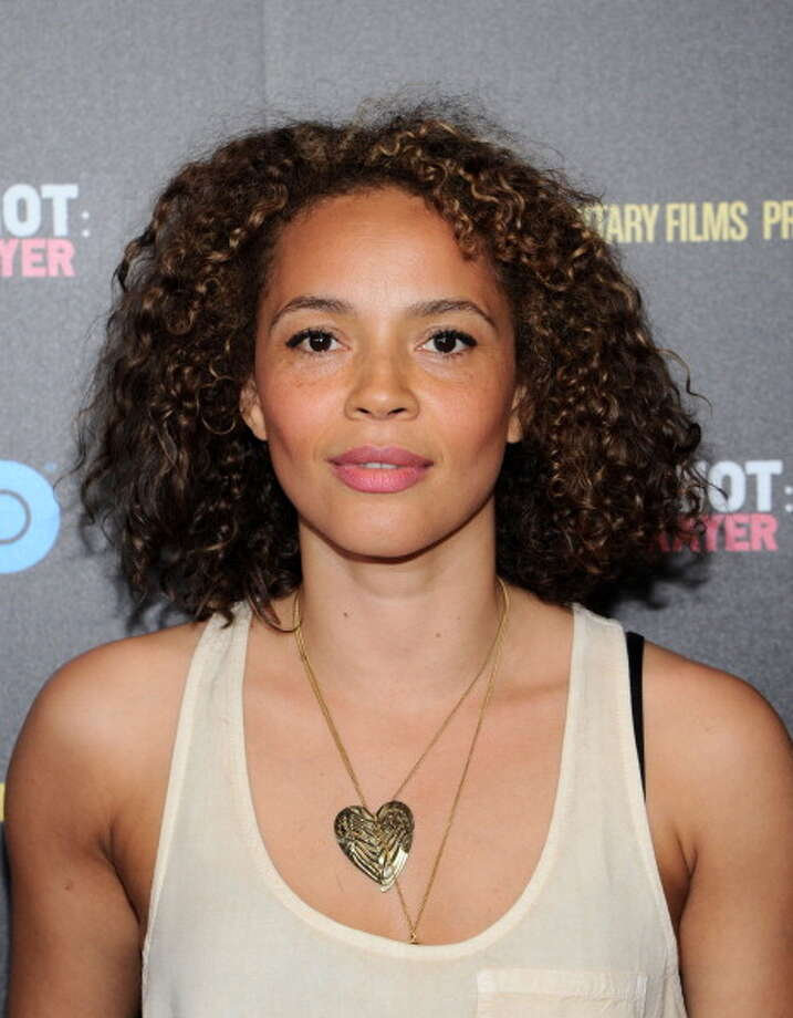 This is one I'm looking forward to.  Carmen Ejogo as Coretta Scott King in SELMA, which opens at the end of the year.  Here's something interesting:  Her husband, Jeffrey Wright, played Martin Luther King in the TV movie BOYCOTT. Photo: Ilya S. Savenok, Getty Images / 2013 Getty Images