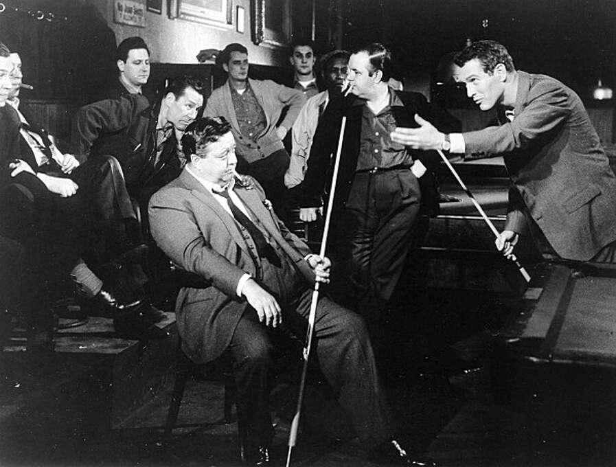 """Jackie Gleason as Minnesota Fats in """"The Hustler"""": Looked like him? Aside from being fat, not really. Sounded like him? No idea.  Result: Triumph."""
